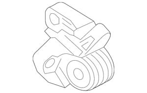 Genuine Ford Motor Mount Support Bracket DV6Z-6E042-A