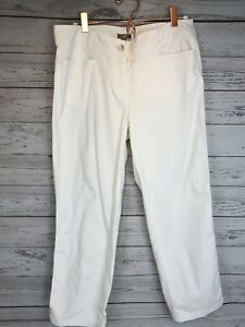 J-Jill-Pure-Jill-Slim-Leg-Cropped-Pants-White-Women-039-s-Size-8