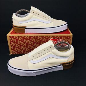 aaa3ba35d0 NEW  Vans Authentic Old Skool (Men Size 8.5) X (Women 10) Gum Block ...