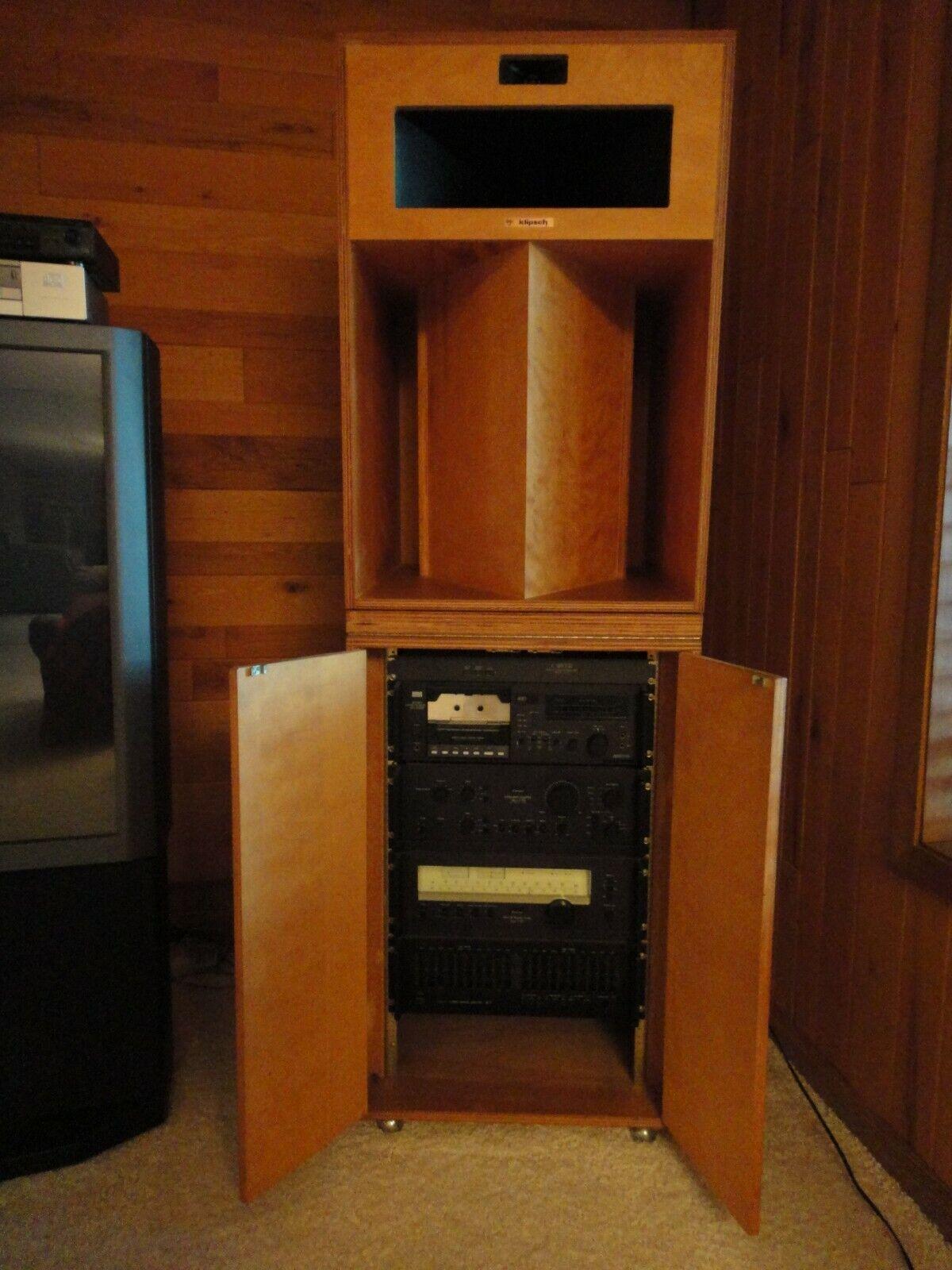 Image 1 - RARE-Klipsch-amp-Sanui-vintage-set
