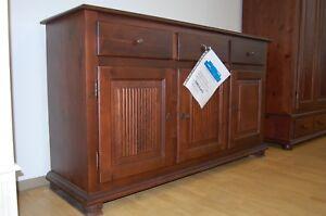 XXL Landhaus Dielen oder Schlafzimmer Kommode Holz Fichte massiv ...