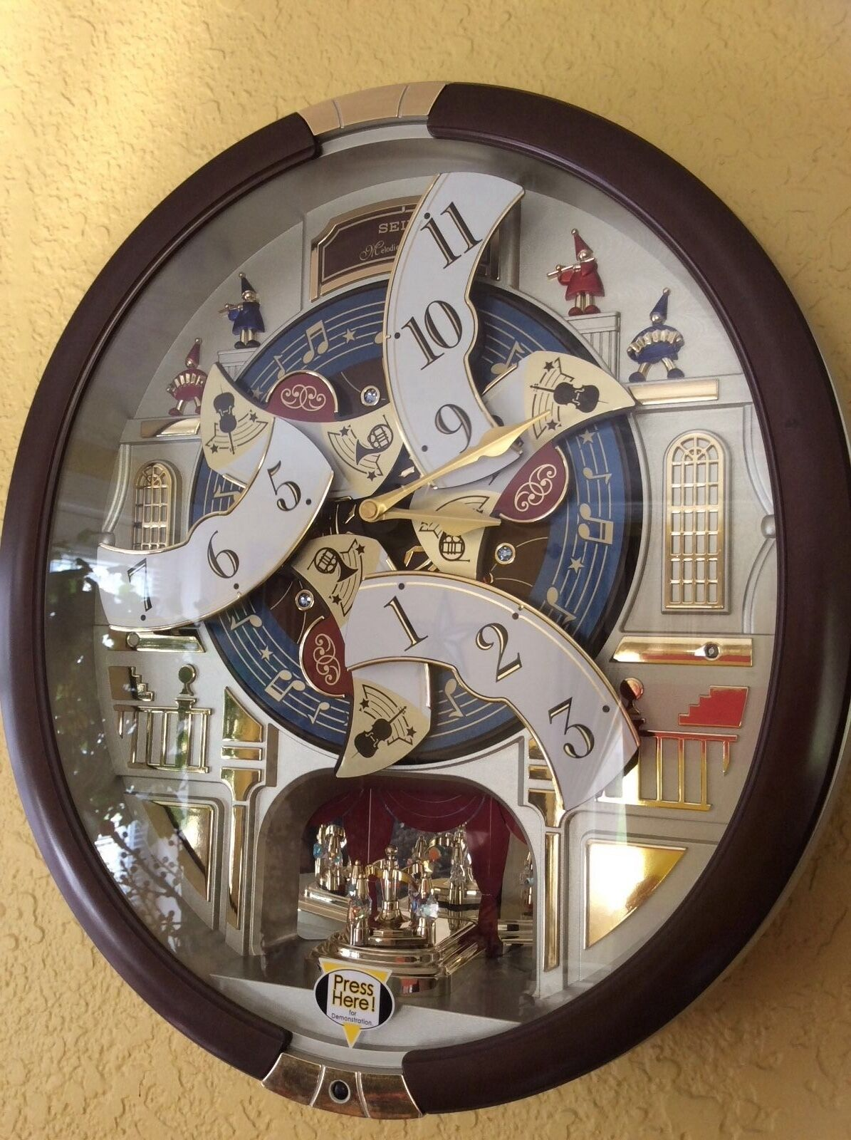 Seiko 24 Melodies In Motion Musical Wall Clock With