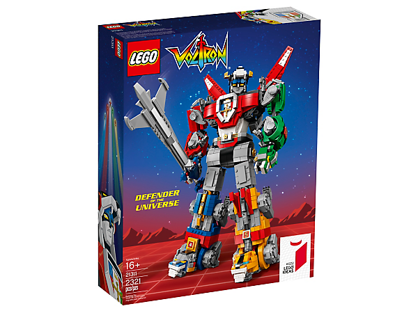 LEGO Ideas 21311 VOLTRON Legendary Defender of the Universe Limited Edition