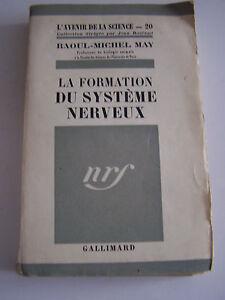 2-livres-sur-LE-SYSTEME-NERVEUX-PAR-L-039-AVENIR-DE-LA-SCIENCE-GALLIMARD-1945