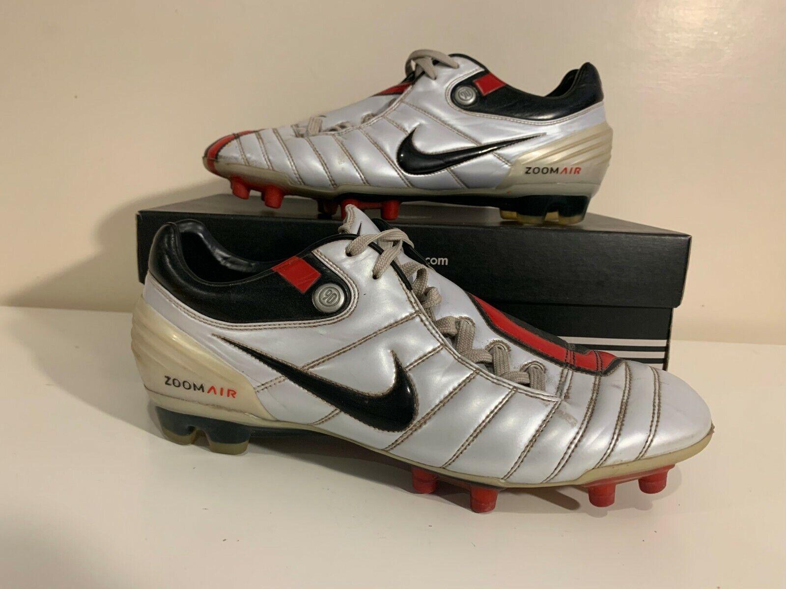 Nike Air Zoom Total 90 t90 blancoo Zapatos deportivos de fútbol 44 9 10