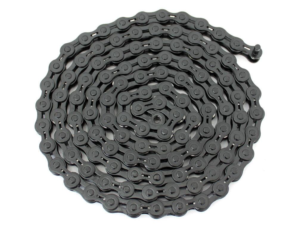 10Pcs PYC SP111 Single Speed Hollow Chain Bike Chain 1 2 x1 8  116L PTFE Coating