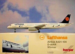 Herpa-Wings-1-500-Airbus-A321-100-Lufthansa-D-Airr-530491-Modellairport500