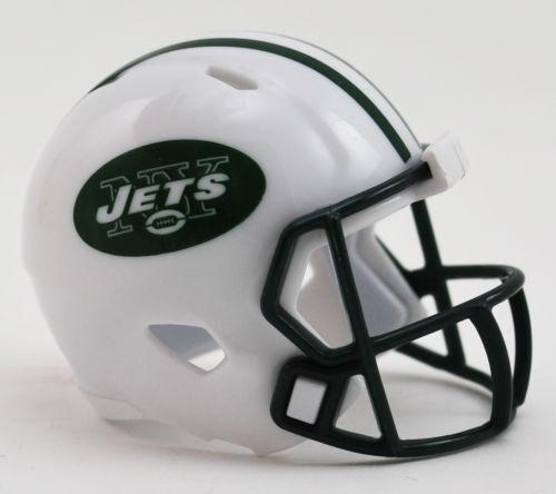 NEW YORK JETS NFL RIDDELL MINI SPEED POCKET PRO HELMET LOOSE