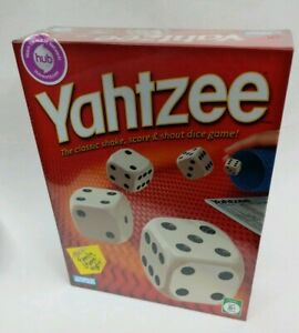 NEW-Parker-Brothers-Yahtzee-2005-Factory-Sealed