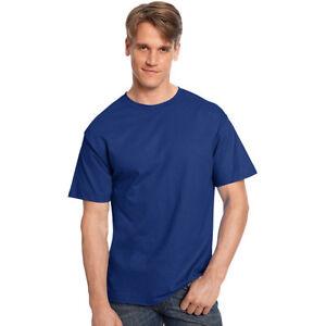 a6a456c6a3427 Hanes 5250 Tagless T-shirt Size 5xl Deep Royal Blue for sale online ...