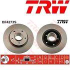 2x TRW Df4273s disco de freno