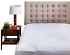 Micropuff Down Alternative Filling Mattress Pad Fitted Topper King Size 78x80in