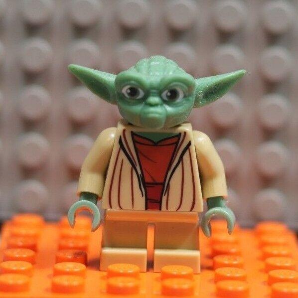 lego star wars yoda  gray hair minifigure minifig clone