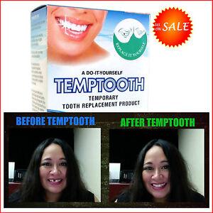 Diy temporary tooth replacement oral cosmetic dentistry temp teeth la foto se est cargando diy temporary tooth replacement oral cosmetic dentistry temp solutioingenieria Images
