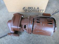 Bell Amp Gossett Booster Series Pr Series 100 In Line Booster Pump Flanged
