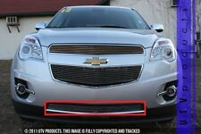 GTG 2010 - 2015 Chevy Equinox 1PC Polished Insert Bumper Billet Grille Grill