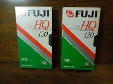 Fujifilm Hq120 High Quality T-120 VHS Blank Tapes
