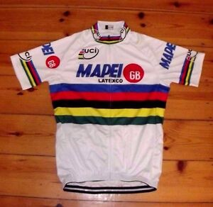 Brand New Team Mapei GB world Champion Cycling jersey colnago C40  e2dc77c33