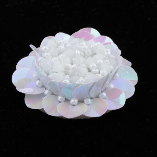 Mode 3D Kristall Perlen Patch Abzeichen Nähmotiv Applique Kleidung Dekoration