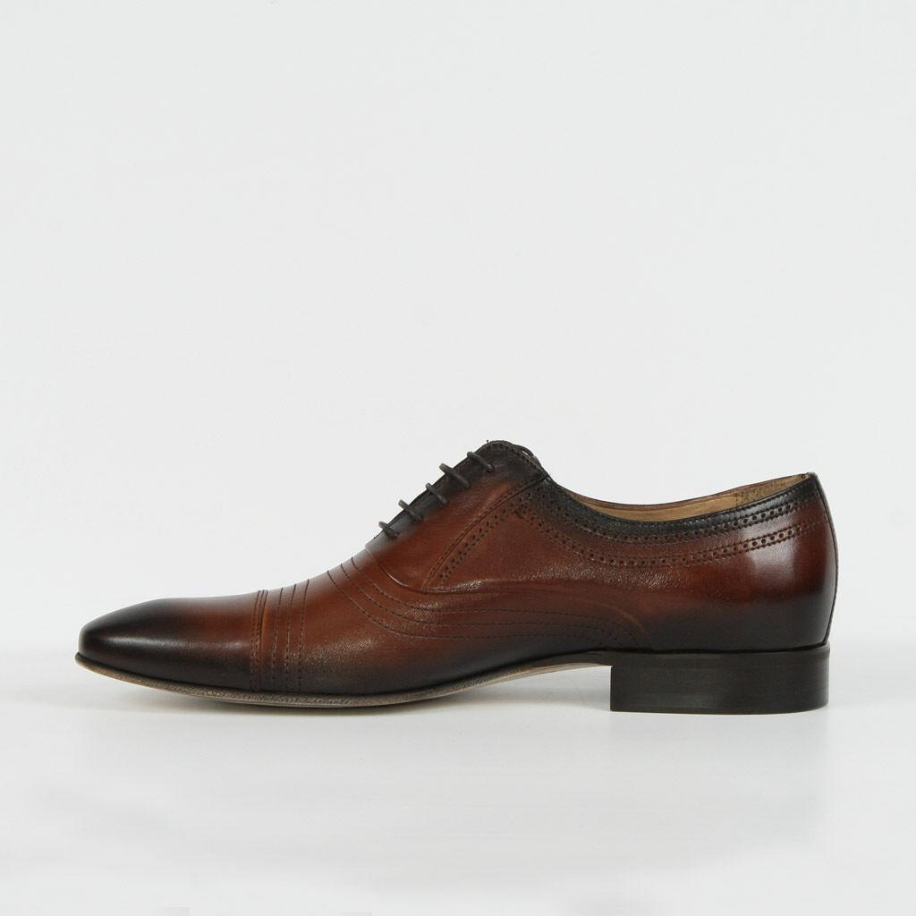 Señores semi zapatos Business señores marrón nuevo cuero 41 42 43