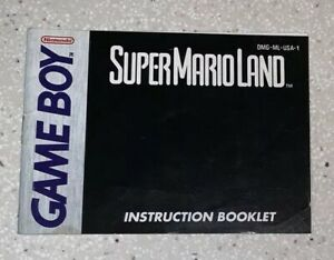 Super-Mario-Land-Nintendo-Game-Boy-Instruction-Booklet-Manual-Only