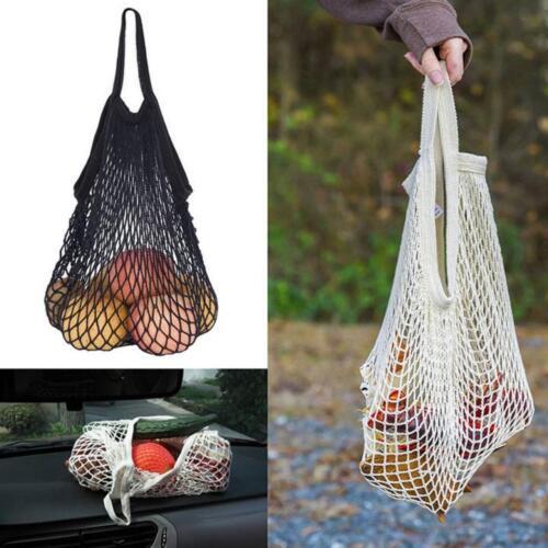 10Color Mesh Net Turtle String Shopping Bag Reusable Fruit Storage Handbag Totes