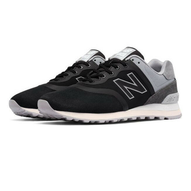 New Balance MTL574DC - Men's 574 Re-Engineered shoes color  Black