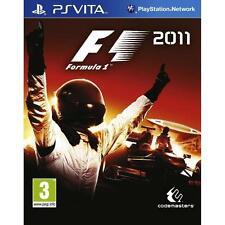 FORMULA ONE 1 F1 2011 Playstation Vita PSVITA Video Game UK Release New Sealed