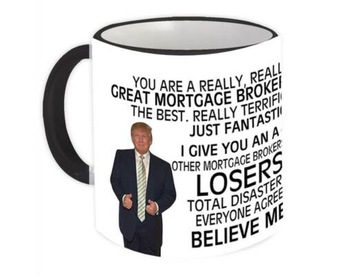 Mug Best Birthday Christmas Jobs FACILITY MANAGER Gift Funny Trump
