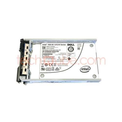 TRAY Dell 394XT 120GB 2.5 SATA 6G SSD Server Solid State Drive SSDSC2BB120G7R