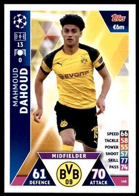 Match Attax Liga de Campeones 2018//19 18//19 Borussia Dortmund