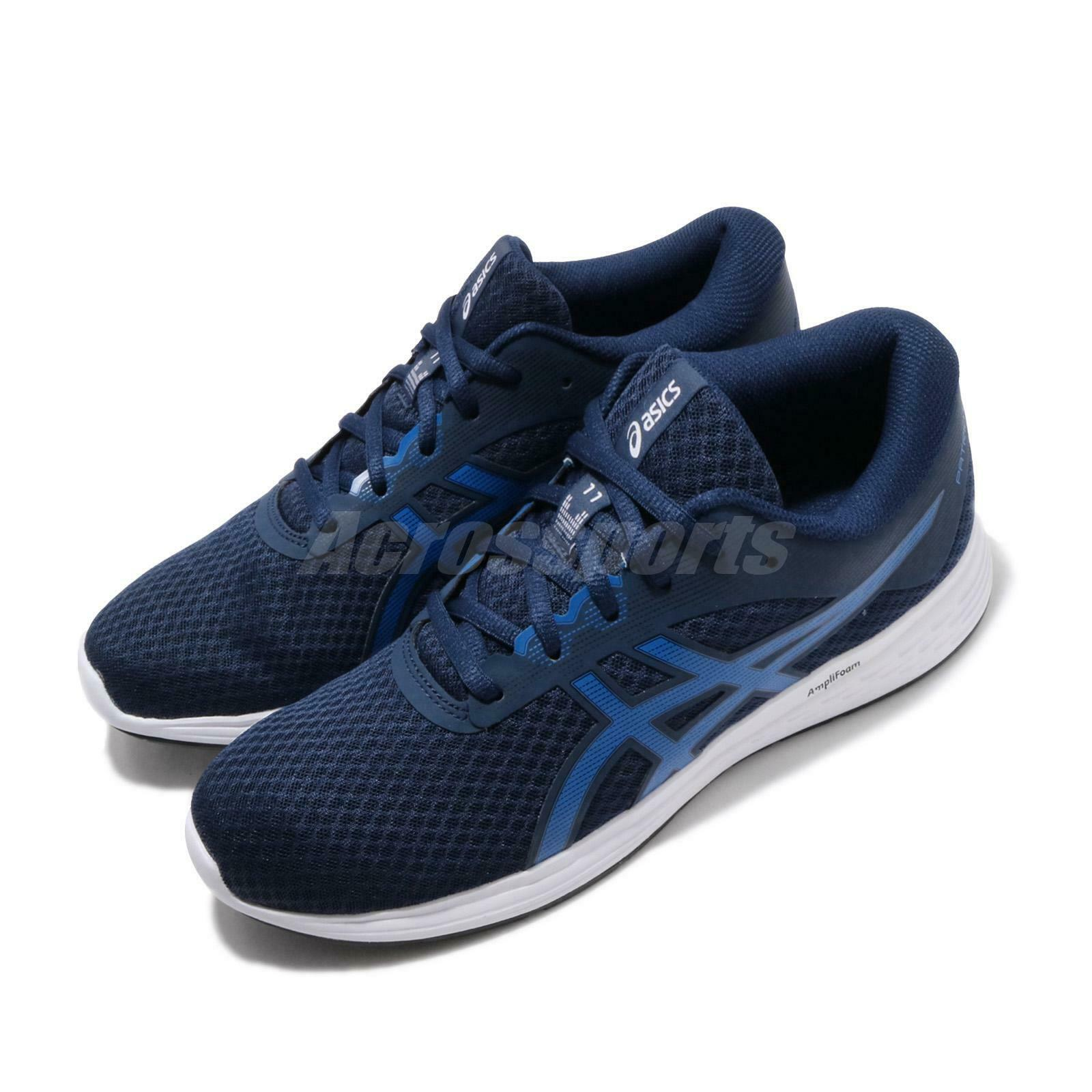 Asics Patriot 11 bluee Expanse Imperial Navy White Men  Running shoes 1011A568-400  credit guarantee