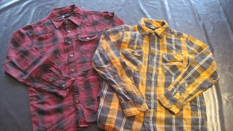 Blandet tøj, cowboy, nylon mm