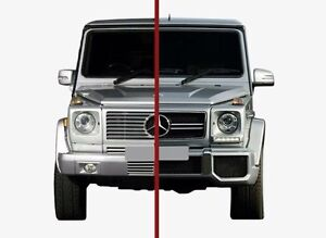 Details about Mercedes G class G63 look front conversion kit