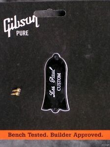 Genuine-Gibson-Les-Paul-Custom-Truss-Rod-Cover-Plate-Avec-Vis-guitar-part