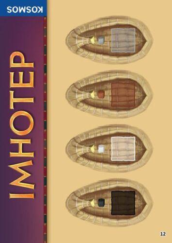 Imhotep Expansion The Private Ships Brettspiel Adventskalendar 2016 PROMO #12