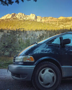 Toyota Estima Camperized 4x4 Van with supercharger Low KMs - obo