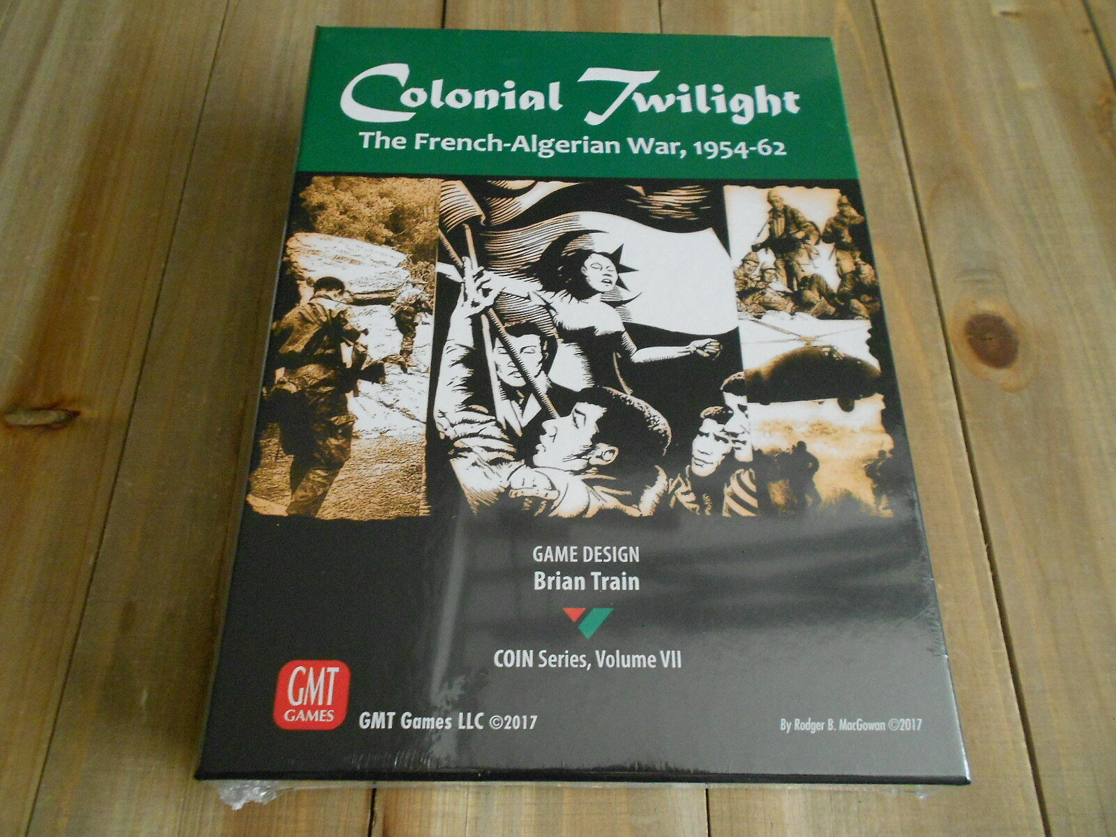 Juego wargame - Colonial Twilight  the French-Algerian War 1954-1962 - GMT Games
