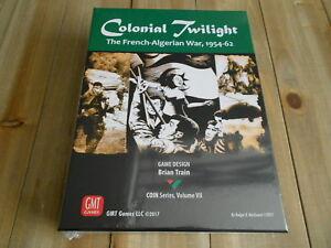 Jeu Wargame - Colonial Twilight: The Français-algérien War 1954-1962 Gmt Games