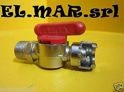 """Rubinetto LINEA 3/8"""" M Aria compressa Compressore"""