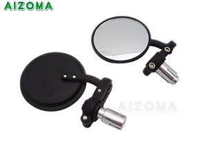 Motorcycle-7-8-in-Handlebar-End-Rear-View-Side-Mirror-Fit-Honda-Suzuki-Scooter
