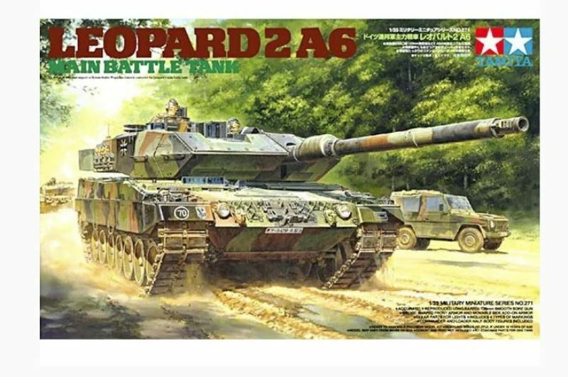 Tamiya 1 35 scale Leopard 2 A6 Main Battle Tank
