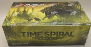 TIME SPIRAL REMASTERED Draft Booster Box Sealed Magic the Gathering MTG