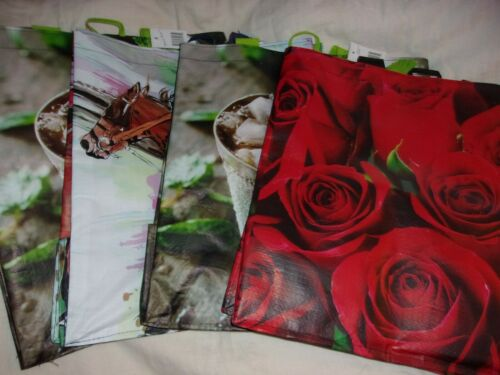 Lot of 4 Choose2Reuse Reusable Grocery Shopping Bags Extremely Durable Multi Use