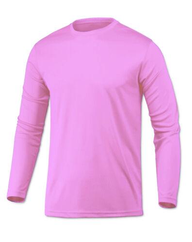 Microfiber Long Sleeve Fishing Shirt UPF 50 LIGHT PINK N//G