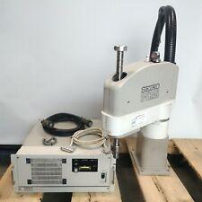Seiko Tt8550 D Tran Scara Robot Arm Amp Sc 310 Controller 4 Axis 550mm Arm Withcable