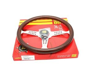 MOMO Steering Wheel Heritage Super Grand Prix Mahogany Wood 350mm NEW GRA35WD0P