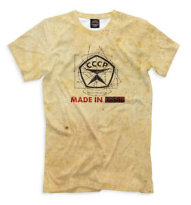 MADE-in-URSS-nuovi-T-SHIRT-Russia-Mosca-made-in-URSS-marchio-926911