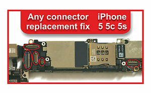 iphone 5c motherboard iphone 5 5c 5s logic board any connectors repair service 11110