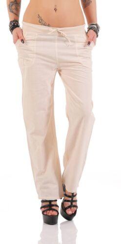 11101 Leichte Damen Sommerhose Freizeithose Hose Pants Baumwollhose